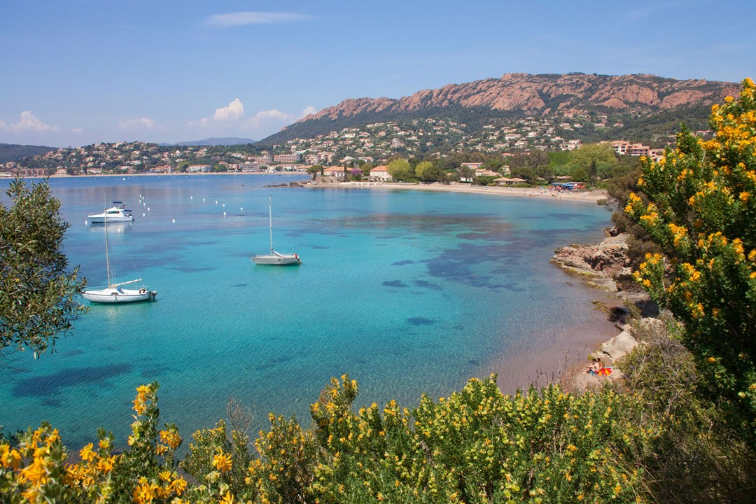 Agay bay French Riviera